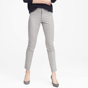 Banana Republic Sloan Pants in Light Grey